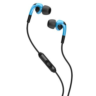 Skullcandy Fix Hot Blue/Black In-Ear Headphones With In-Line Mic (S2Fxgy-394)