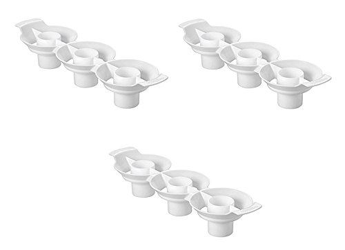 Wilton Two Tone Cupcake Insert, Set of 3 (Two Tone Cupcake Pan compare prices)
