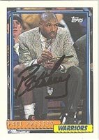 Paul Pressey Golden State Warriors 1992 Topps Autographed Hand Signed Trading Card -... by Hall of Fame Memorabilia