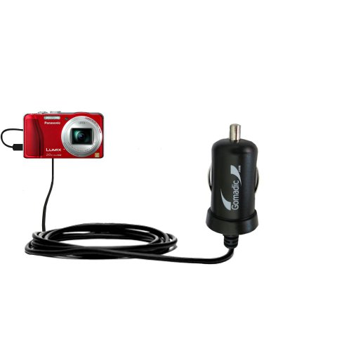 Intelligentes 2A / 10W Kompakt-Ladegerät DC kompatibel mit Panasonic Lumix DMC-ZS20R mit TipExchange Technologie