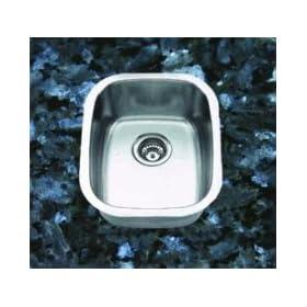 SUNELI Undermount Single Bowl Bar Sink SM1815