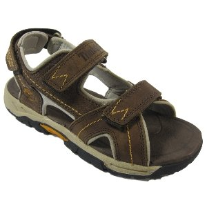 Timberland Kids Earth Keepers Trail Leather Sandal - Brown