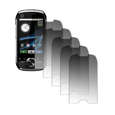 5 Pack of Premium Crystal Clear Screen Protectors for Motorola i1 [Accessory Export Brand Packaging]