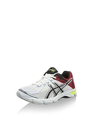 Asics Zapatillas de Running Gt-1000 4 Gs (Blanco / Rojo / Negro)