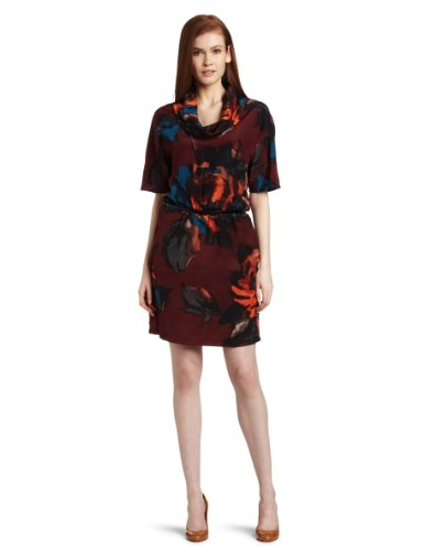 Kenneth Cole Women's Irish Rose Print Dress