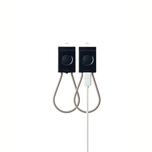 BOOKMAN Fahrradlicht, USB, Set (schwarz)