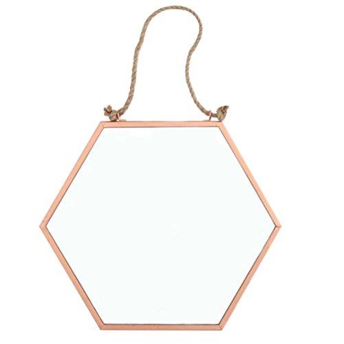 copper-hexagonal-metal-hanging-mirror-19x16-cm