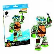 Paper Punk Teenage Mutant Ninja Turtle TMNT Leonardo Pizza Build Your Own Paper Action Figure Toy Nickelodeon