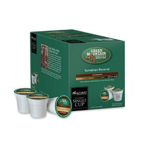 Green Mountain Coffee Extra Bold Sumatran Reserve K-Cups (48 count)