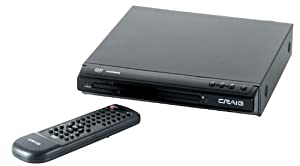 Craig Compact DVD Player with HDMI Output and Remote (CVD401a)