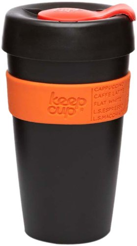 Keepcup The Worlds First Barista Standard 16-Ounce Large Reusable Cup, Bpa Free, Jalapeno