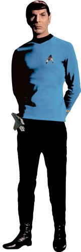 RoomMates RMK1360GM Star Trek Spock Peel & Stick Giant Wall Decal - 1
