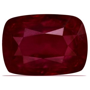 3.87 Carat Untreated Loose Ruby Cushion Cut Gemstone (GIA Certificate)