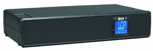 Tripp Lite SMART1500LCD 1500VA 900W UPS Smart Rackmount Tower LCD AVR 120V USB DB9 RJ45, 8 Outlets