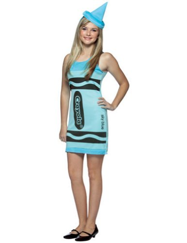 teen 14-16 - Crayola Tank Sky Blue 14-16 Teen