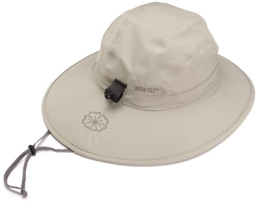 Outdoor Research Women's Misto Sombrero Rain Hat, 800-Khaki, Medium