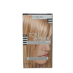 L'Oreal Tone Refiner Balancing Toning Gloss, TR1 (For Blonde Hair)
