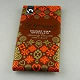 Pack Of Three Divine Fair Trade Milk Chocolate Orange Bar