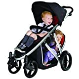 phil&teds Doubles Kit for Verve Stroller, Black by phil&teds