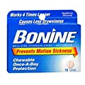Bonine Motion Sickness Protection Chewable Tablets Raspberry -- 16 Tablets