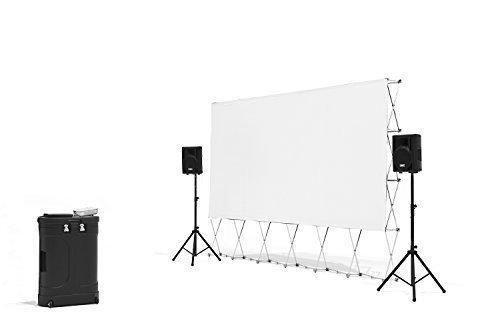 16-Foot Outdoor Movie System w/ Optoma 720p Projector+WiFi
