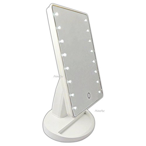 Primepac Best Price Free Standing Makeup Mirror With Led