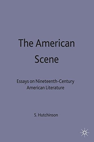 The American Scene: Essays on Nineteenth-Century American Literature (New Directions in American Studies)