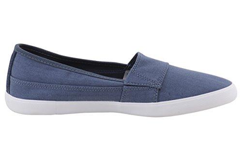 Lacoste Women's Marice 316 1 Spw Flat, Blue, 6.5 M US
