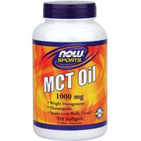 Now Foods MCT Oil Softgels, 1,000 mg, 150 Count