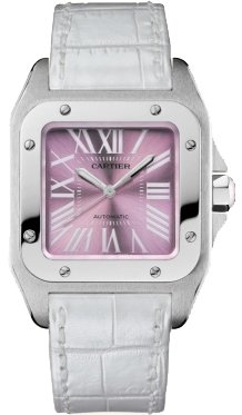 Cartier Catier Santos 100 Ladies Watch W20133x8