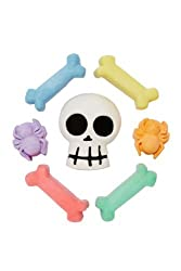 Rose Art Surprise Inside Sidewalk Chalk Skull & Crossbones 7 Colorful Pieces