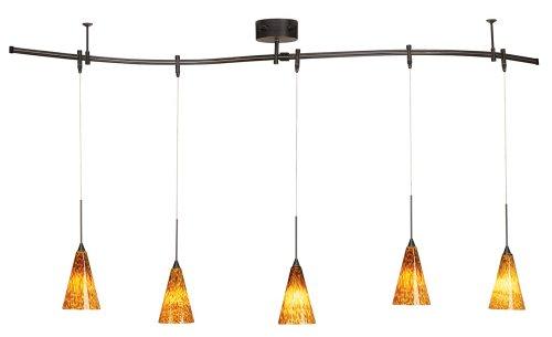 Track pendant lighting kits pendants pro track bronze 175 watt five light monorail pendant kit aloadofball Choice Image