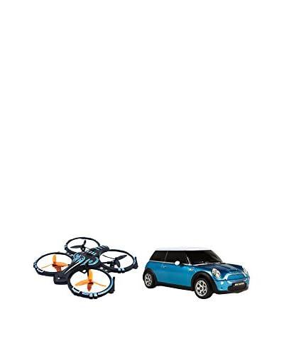 INNOVA/COLOR BABY Kit de Drone Y Coche Teledirigido Mini Cooper S.