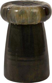 Imax Keegan Ceramic Stool front-220989