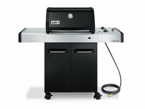 Weber 4511001 Spirit E-210 Natural Gas Grill, Black