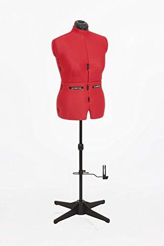 Singer ha 950manichino plastica rosso 36x 25x 155cm