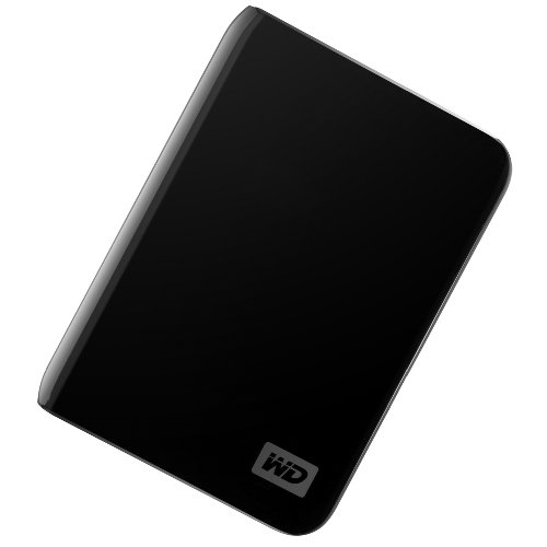 Western Digital My Passport Essential 500 GB USB 2.0 Portable External Hard Drive (Midnight Black)
