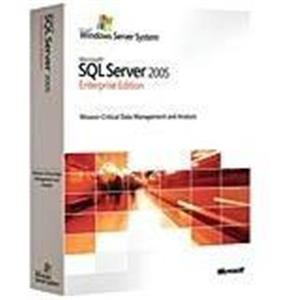 Microsoft SQL Server Enterprise Edition 2005 CD/DVD 25 Client