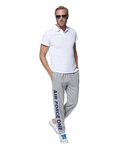 American Collection Pantalón Jogging Gris