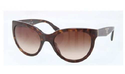 prada Prada PR05PS Sunglasses-2AU/6S1 Havana (Brown Gradient Lens)-55mm