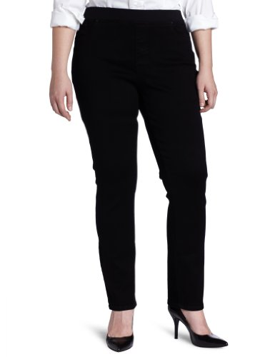 NYDJ Women's Plus-Size Claire Pull On Legging Pant