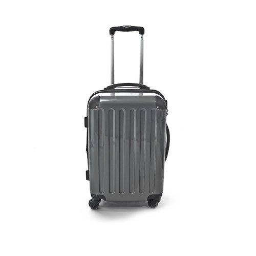 Hartschalen Koffer Silber Hochglanz max.87 L