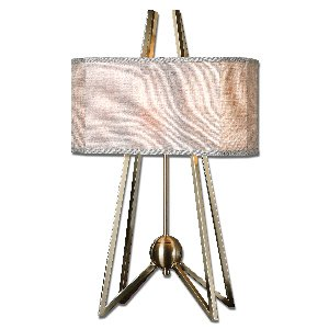 Uttermost 26595-1 Andar Coffee Bronze Table Lamp front-1061205