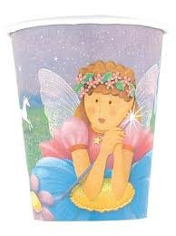 Fairy Princess Birthday Party Cups - Fairy Princess 9 Oz Paper Cups - 8 Count - 1