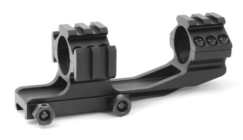 Why Choose TMS AR15 M4 One Piece Offset 1inch Scope Mount w/ Accessory Rails Picatinny Weaver Base