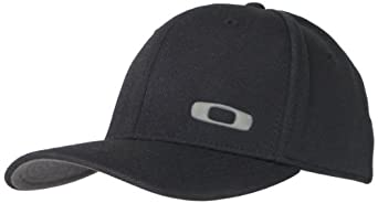 Oakley Men's Silicon O-Cap, Black, Small/Medium