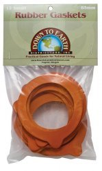 12 Small Rubber Gaskets (85 Mm) for Le Parfait Canning Jars