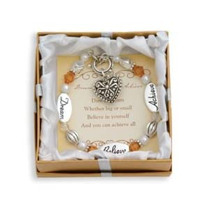 DMM Expressively Yours Bracelet - Dream, Believe, Achieve