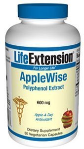 Life Extension - Applewise Polyphenol Extr 600 Mg 30Cap front-1027653