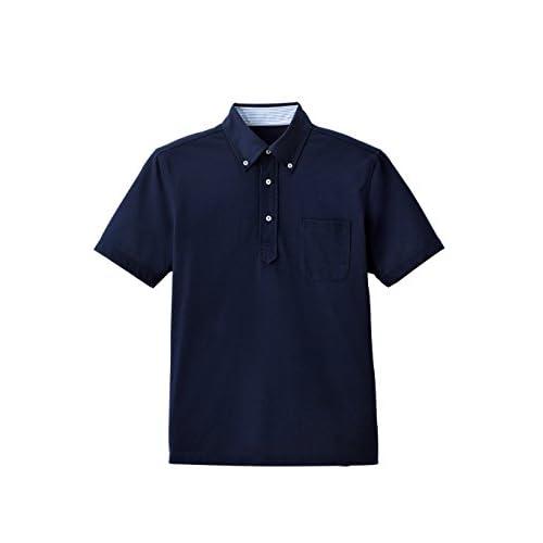 (フェイスミックス)FACEMIX メンズポロシャツ FB5019M 8 ネイビー M